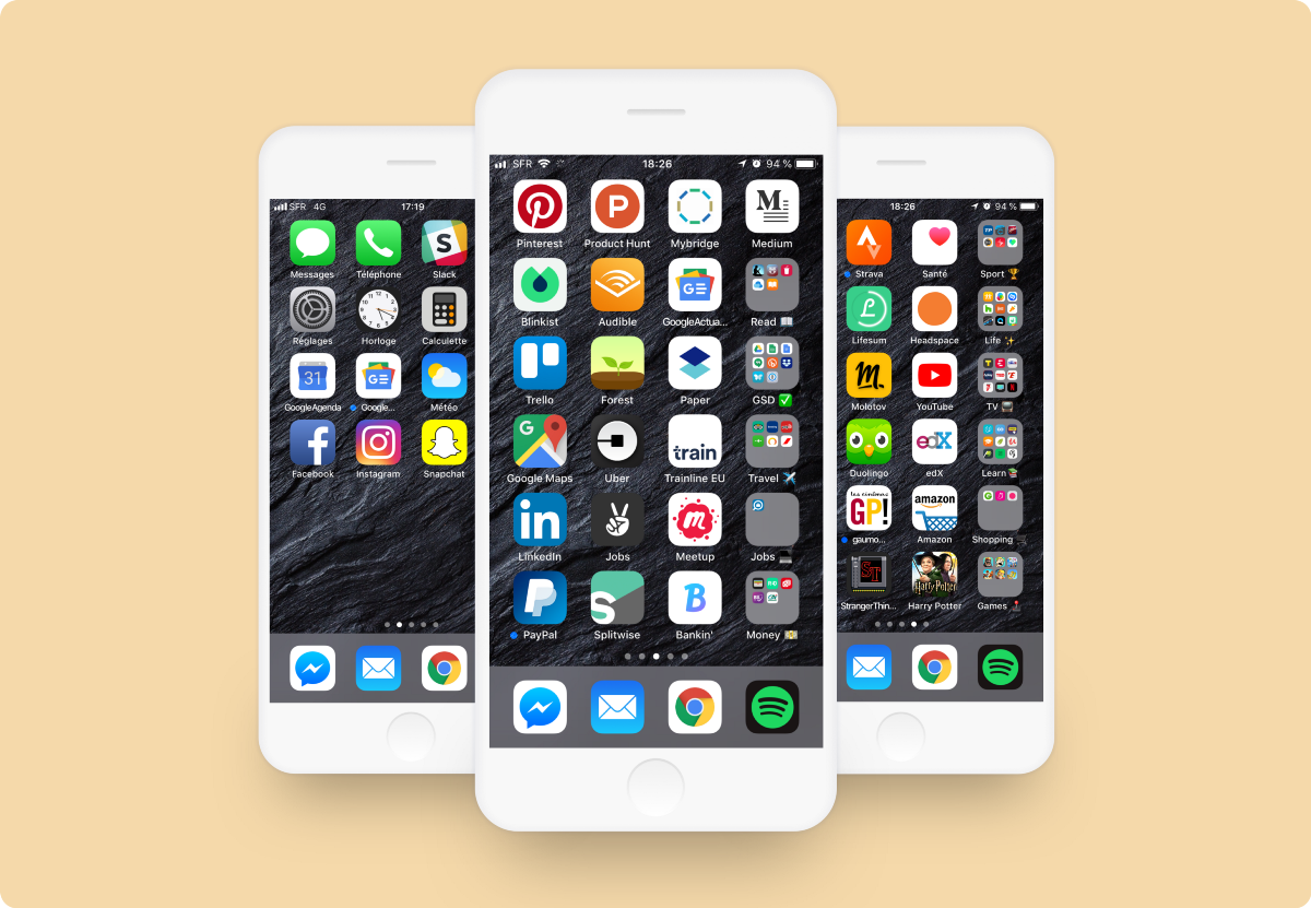 The best way to organize your iPhone Apps – The Startup ...