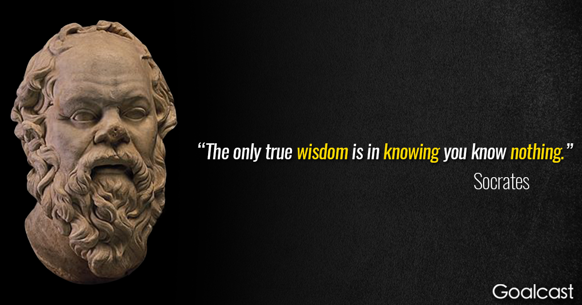 Socrates — What Makes Someone Wise? - Student Voices