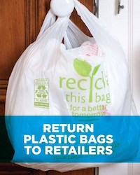 If You Have Extra Plastic Bags Take Them To S Like Whole Foods Or Home Depot Where Can Return For Recycling