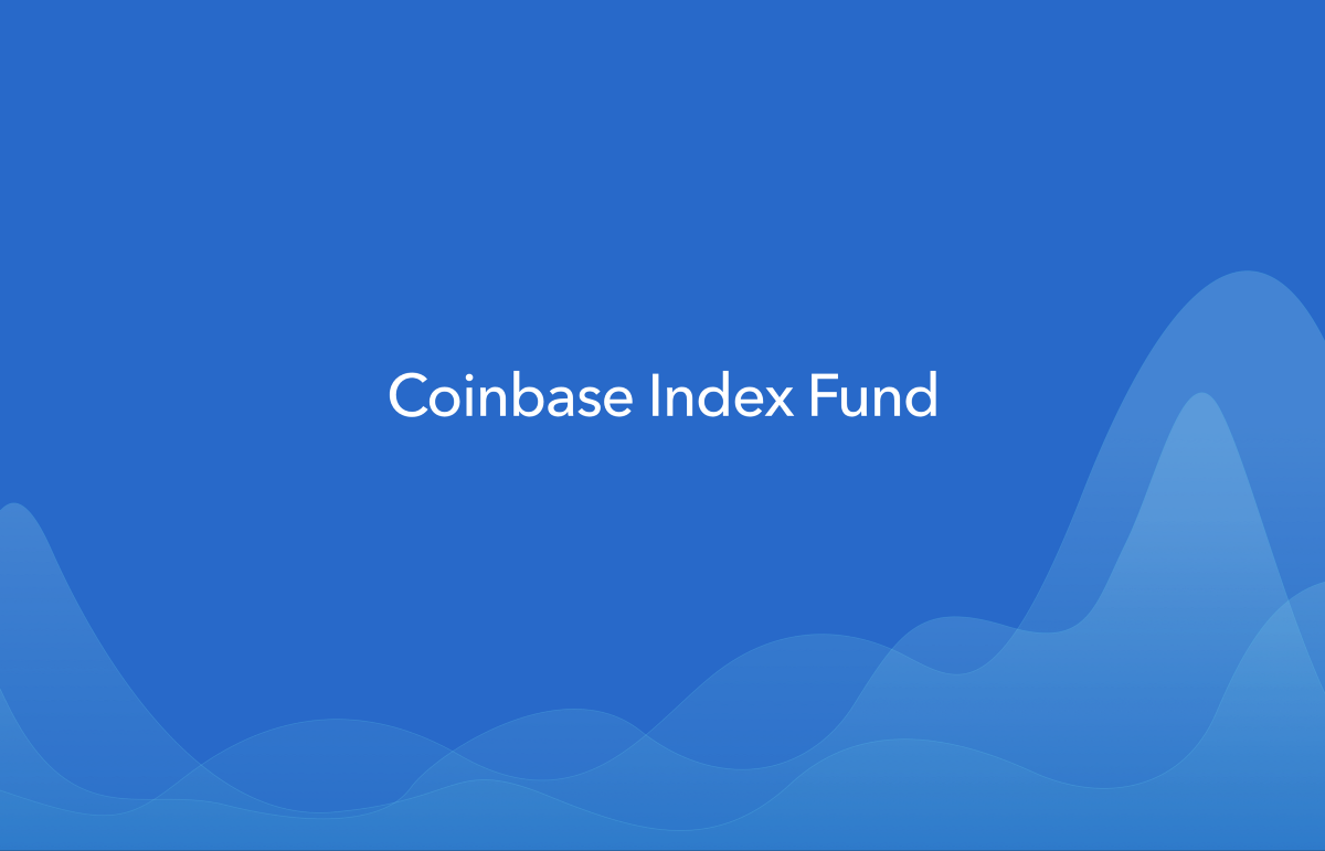 Announcing Coinbase Index Fund – The Coinbase Blog