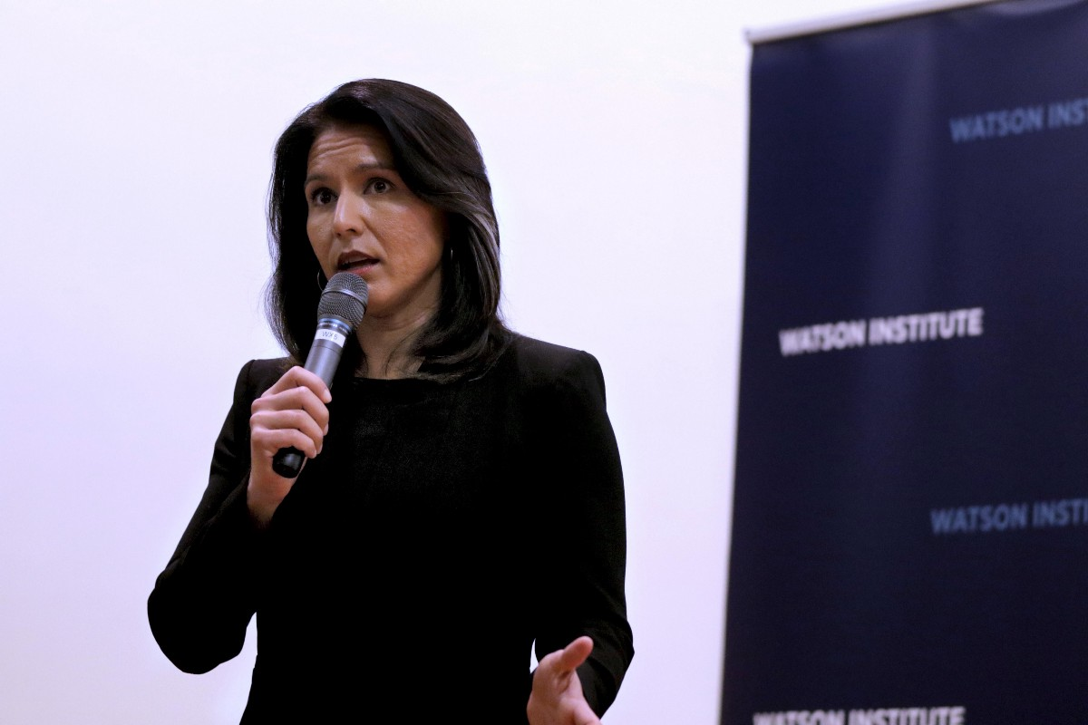 Build, Don't Bomb: A New American Foreign Policy — Tulsi Gabbard