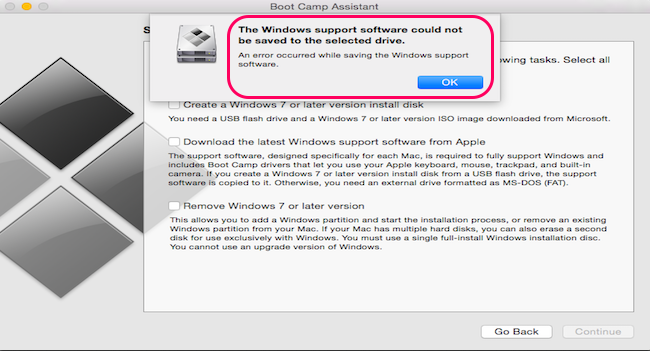 windows support software on mac