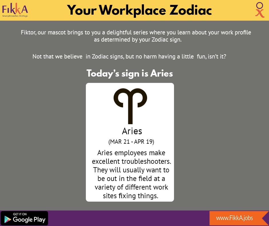 Your Workplace Zodiac Fikkabs Medium