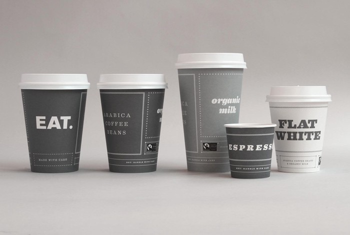 The best disposable cup design excelsior by asis panda for Best coffee cup design