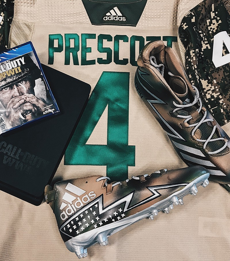 c653f3016648 Adidas x Call Of Duty x NFL Players  Cleats  Celebrating Veterans Day