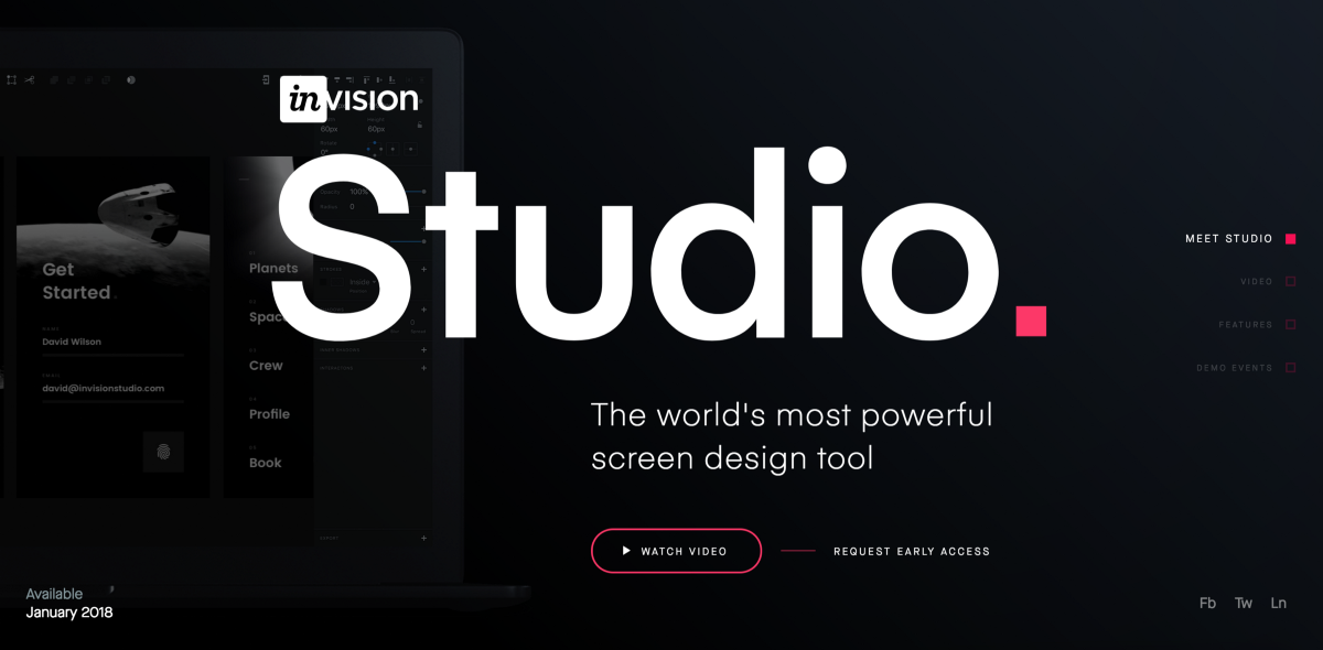 InVision Studio — first impressions from Berlin event