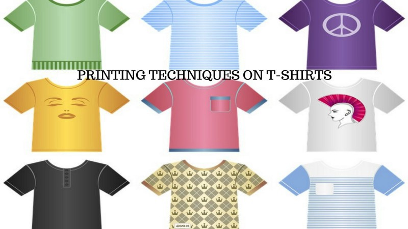 Different Types Of Printing Techniques On T Shirts Embroidery Fx