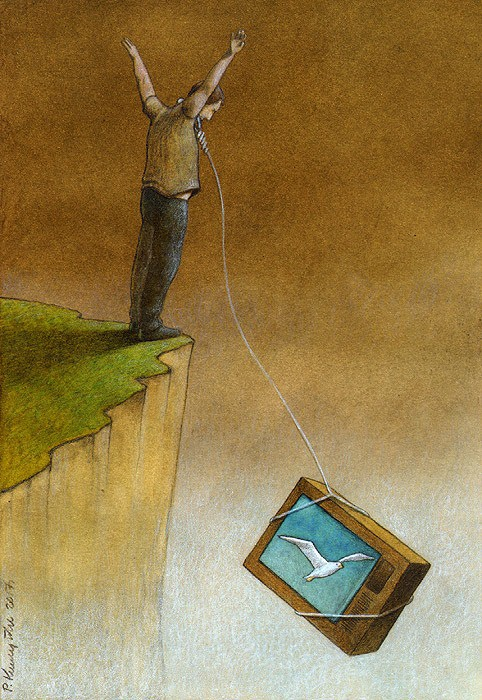 Clear At First Sight Illustrations By Pawel Kuczynski And
