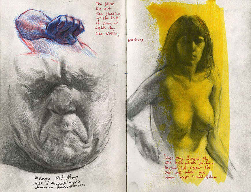 Artist S Sketchbooks That Will Change Your Life The Blue Review