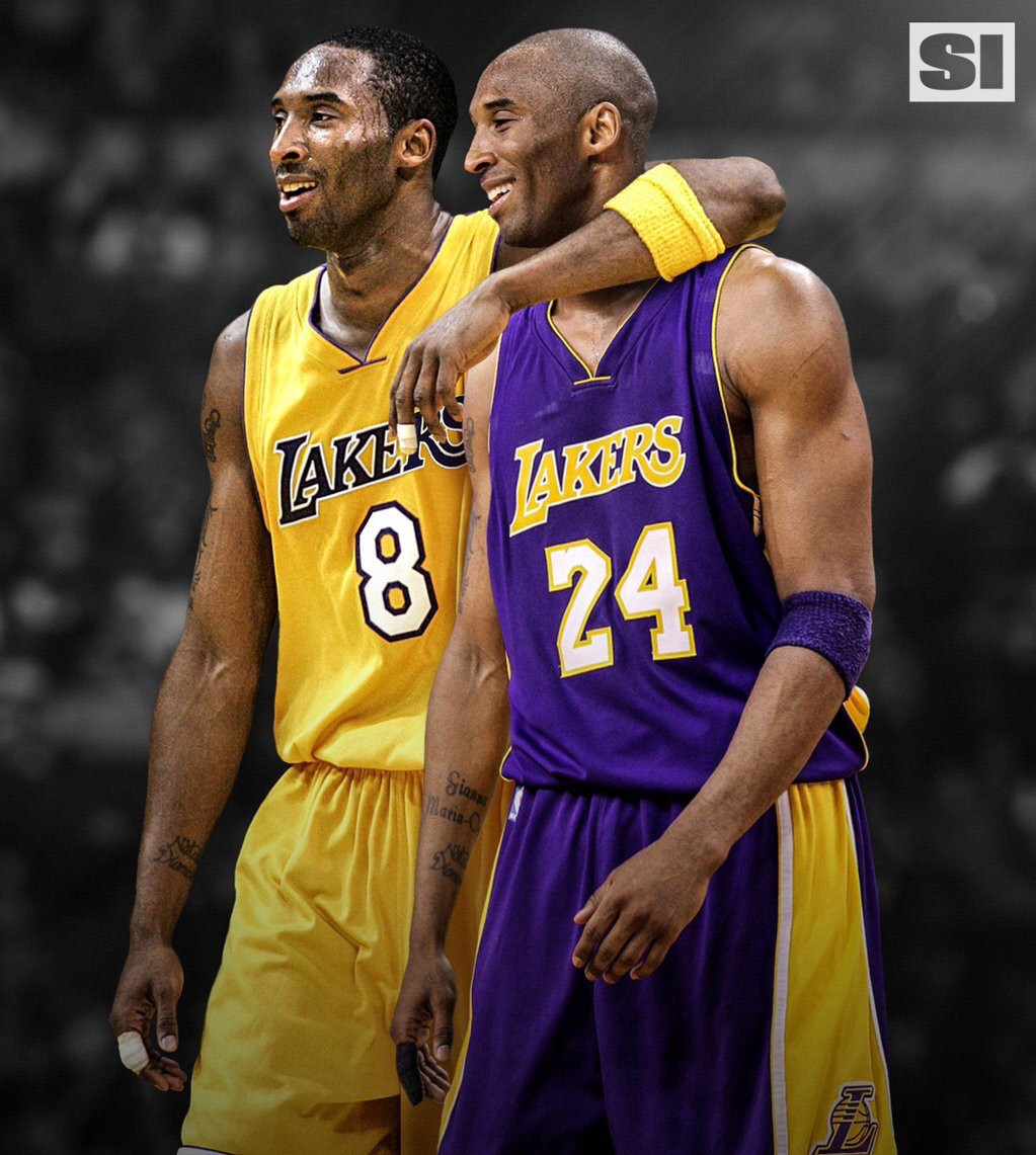 Which Kobe Was Better? №8 Or №24?