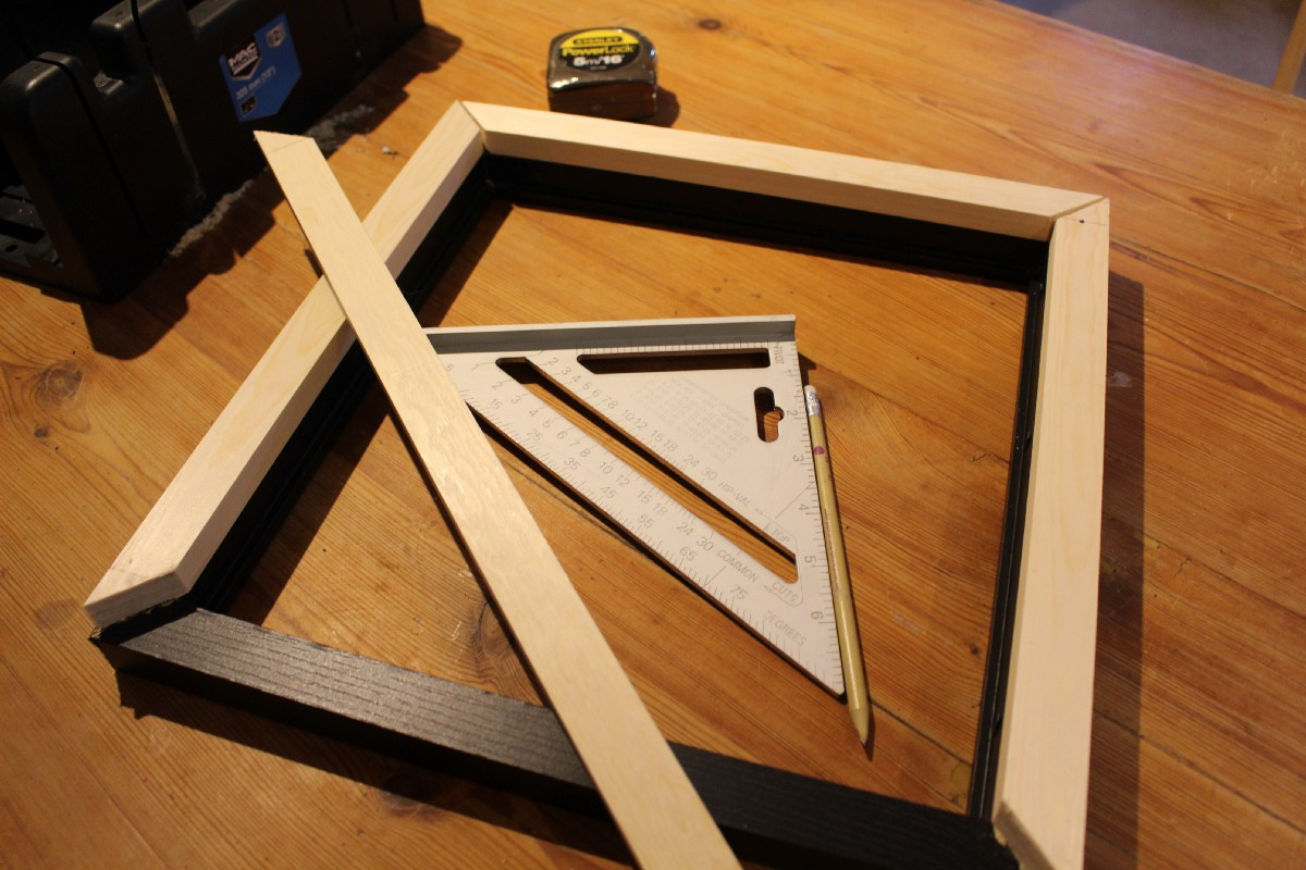 A Magic Mirror Powered By Aiy Projects And The Raspberry Pi Dont Miss Other Custom Furniture Circuit Art Fixing Gluing