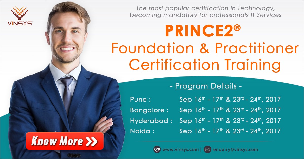 Join Us For Our Next Prince2 Foundation And Practitioner