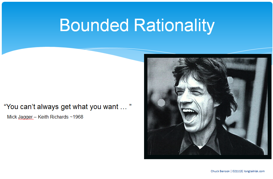 bounded rationality essay Video: bounded rationality and decision making in organizations managers have to make either intuitive or rational decisions every day however.