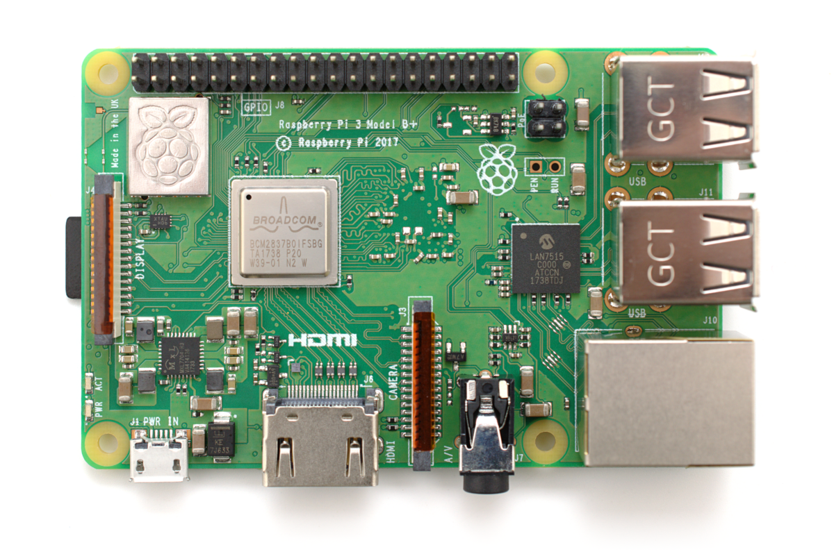Benchmarking The Raspberry Pi 3 B Gareth Halfacree Medium Expense And Complexity Of Creating A Custom Printed Circuit Board Launch Shiny New Offers Chance To Revisit Entire History Family Each Device In Turn From
