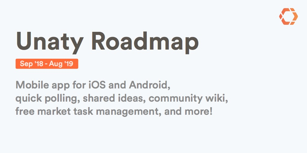 Coming soon on Unaty — our 2018/19 Feature Roadmap – Inside Unaty