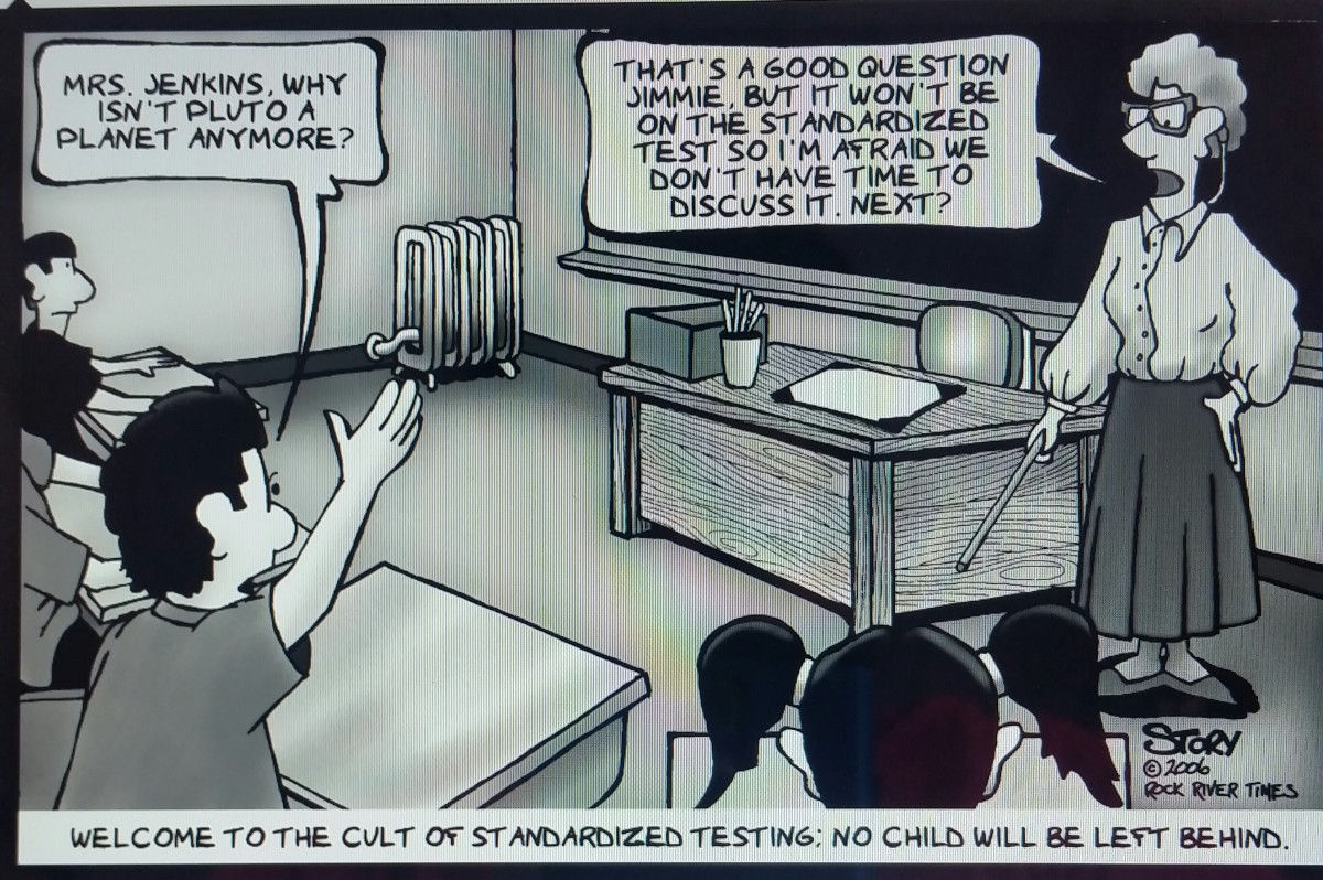 What No Child Left Behind Did For >> Are Standardized Tests Ensuring That No Child Is Left Behind
