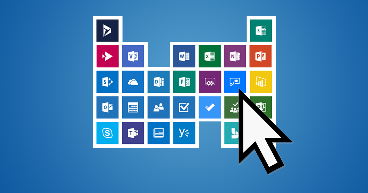introducing the dynamic periodic table of office 365 - Dynamic Periodic Table App
