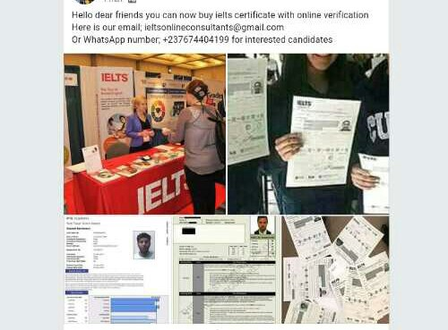 Obtain ielts band 7 5(WhatsApp