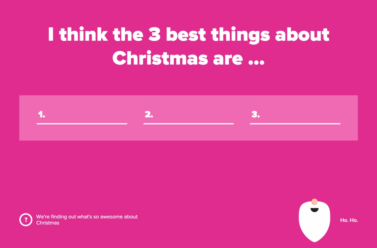 we found out what people actually want at christmas