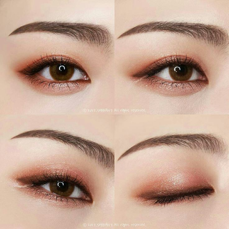 Natural Looking Brown Eye Makeup