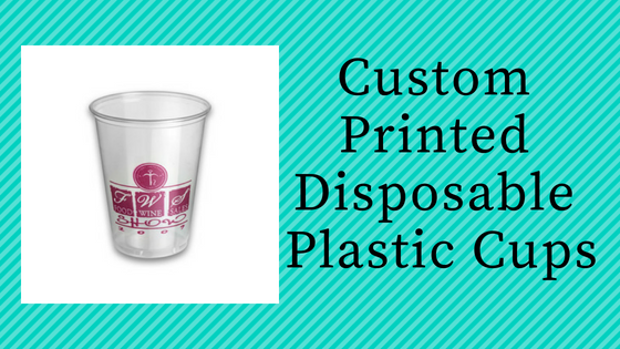 Usa S Best Personalized Plastic Cups Manufacturer And Supplier Custacup Also Design Your Own Custom Logo You Can Get Whole
