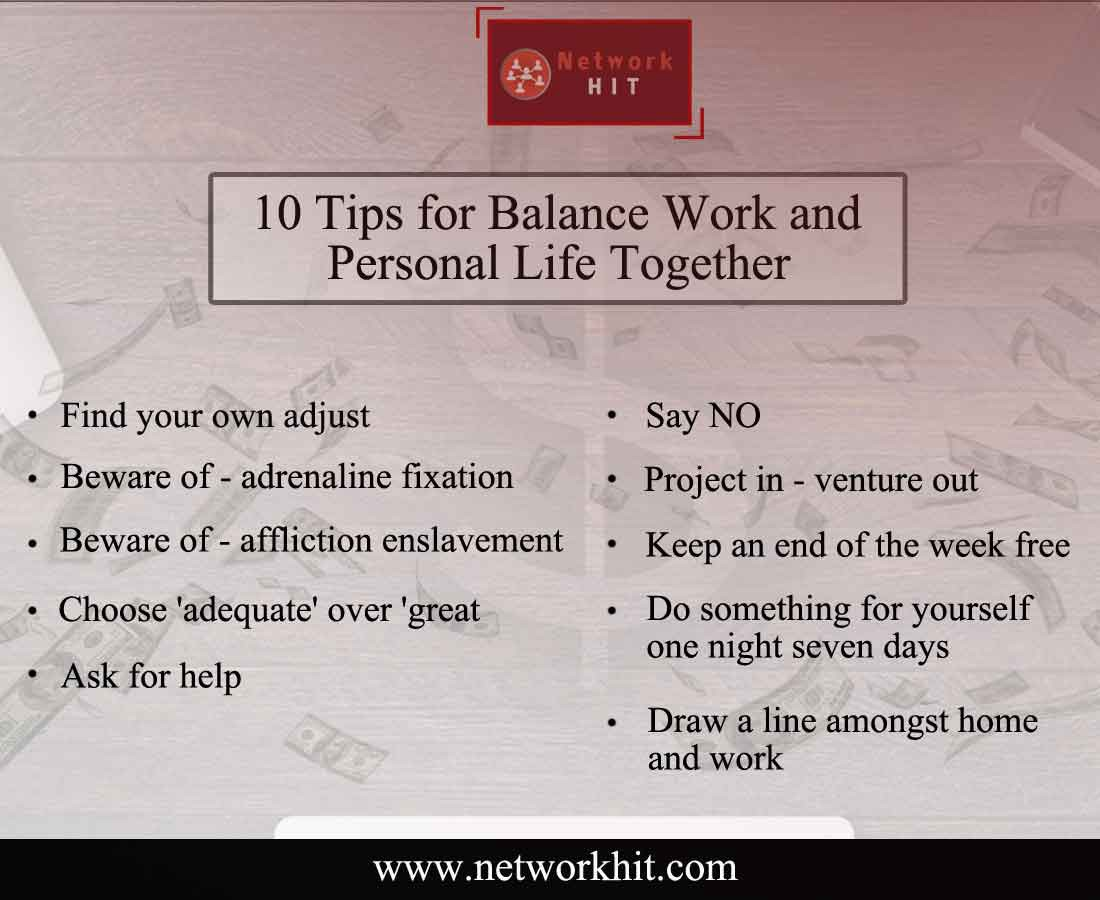 10 tips for balance work and personal