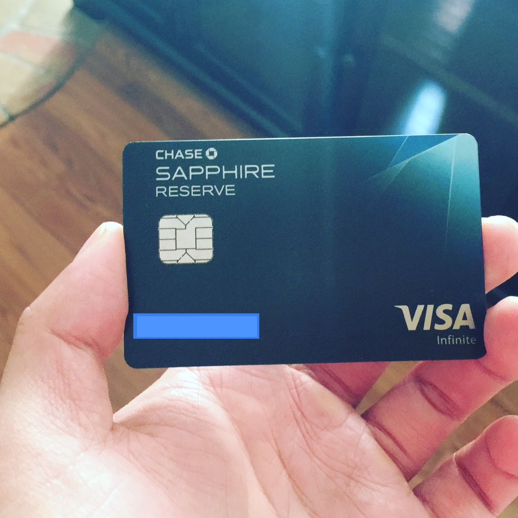Finally I Got My Chase Sapphire Reserve Credit Card