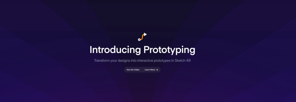 Prototyping in Sketch has just arrived
