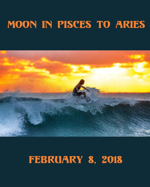 Daily Horoscope Moon In Pisces To Aries February 8 2019