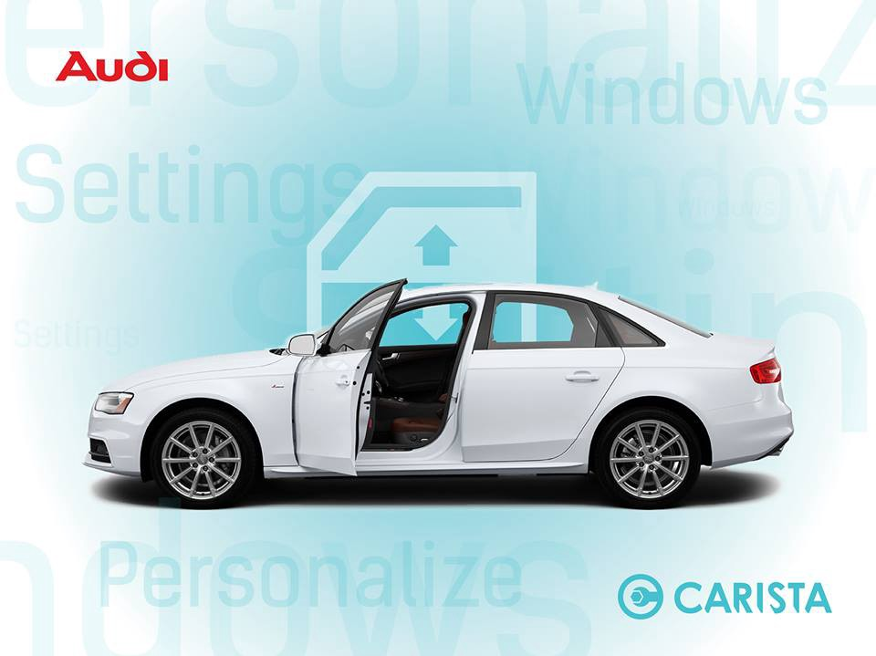 how to open and close windows via remote on an audi a4 s4 a5 s5 (b8