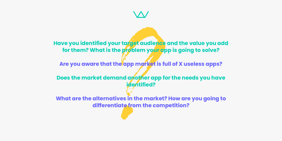 build your app in 3 months, find your market fit, research on app competition, find an app development team