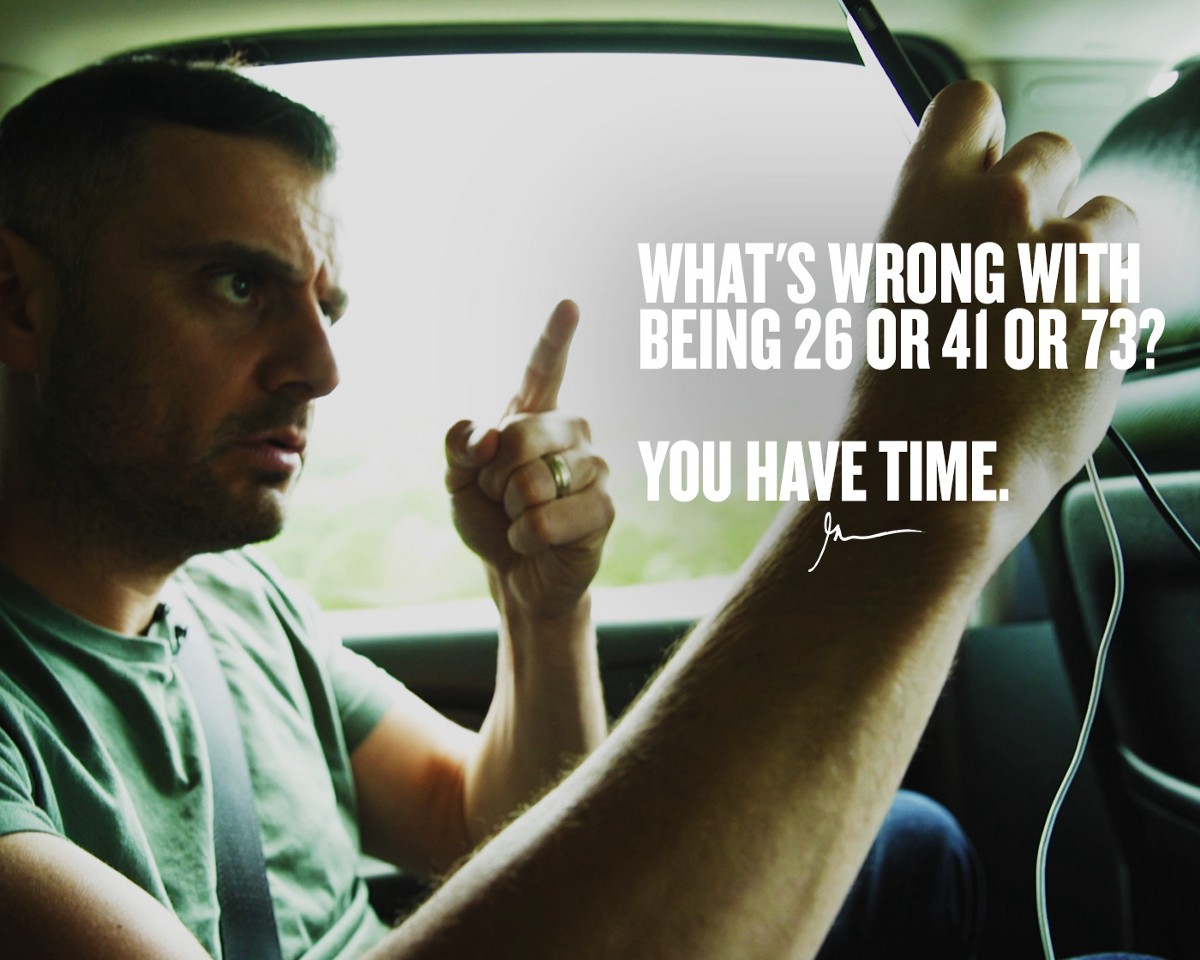 All YOU HAVE IS TIME!!!   Gary Vaynerchuk  Medium