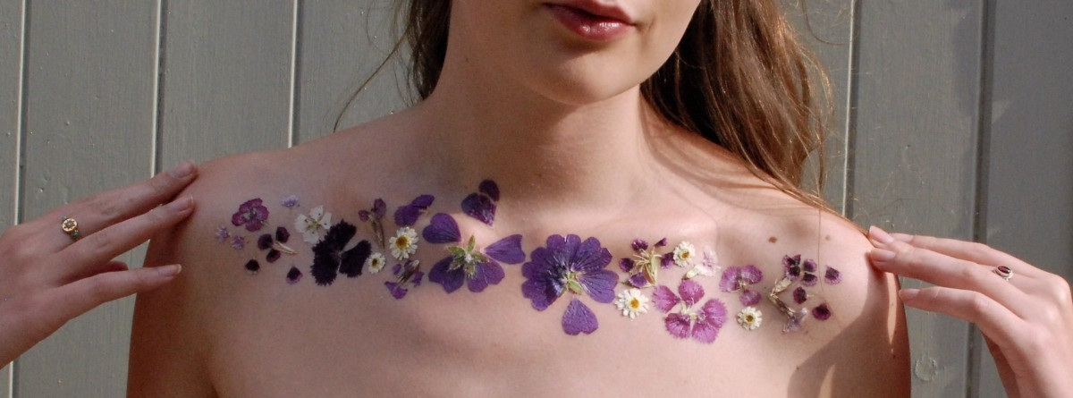 All Hail Dried Flower Tattoos, Our New Favorite Trend