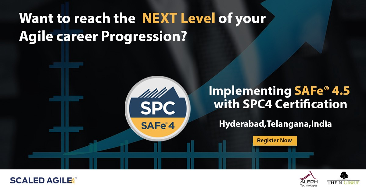 Implementing Safe 45 With Spc4 Certification Naveens Status