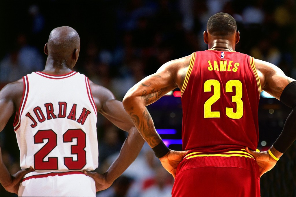 free shipping b4429 068e4 One of the greatest debates in the world of sports today is whether Michael  Jordan or Lebron James is the greatest basketball player of all time.