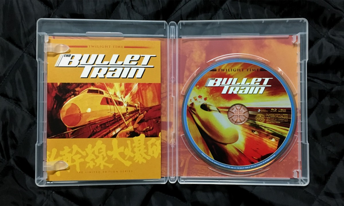 THE BULLET TRAIN The Film That Inspired SPEED Blu-ray Review