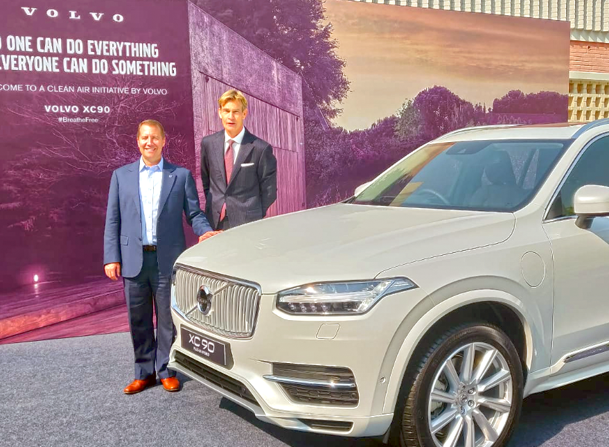 Volvo Cars To Assemble Xc90 T8 Plug In Hybrid In India