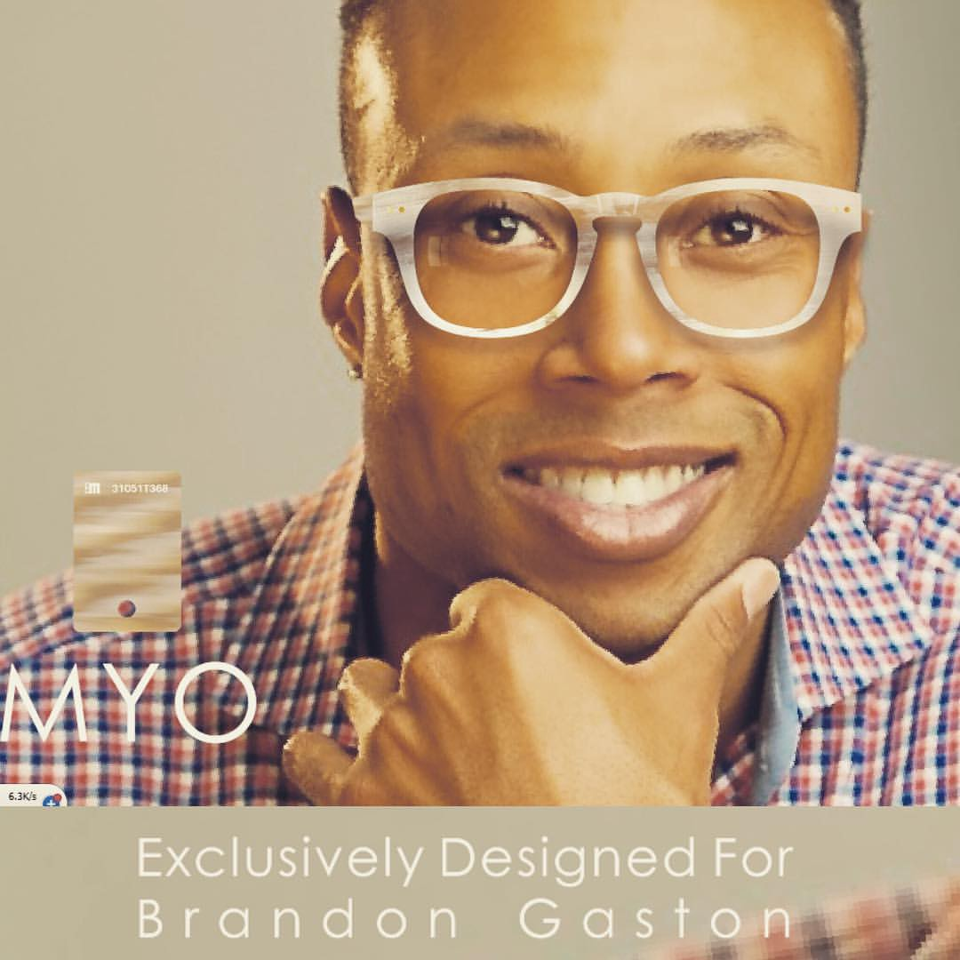 b9b26aa19d Some of the Best Eyeglass Frames for very Thick Lenses are  Eyeglass Frame  Exclusively Designed by EDA Frames for Brandon Gaston