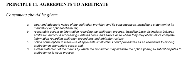 Tyranny Of The Arbitrators And The End Of Small Claims Court