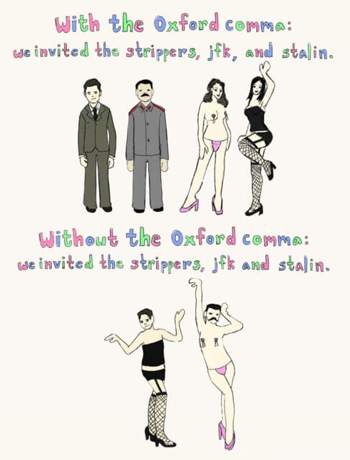 say hello to the switzerland of oxford comma opinions