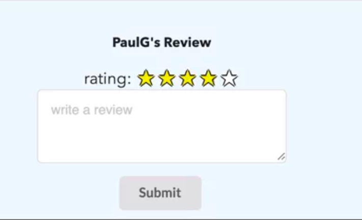 A Simple Star Rating System Using Vanilla Js Css And Html