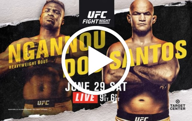 LIVE] Ngannou v dos Santos {Watch Online} Fight Night Video w/ Replay