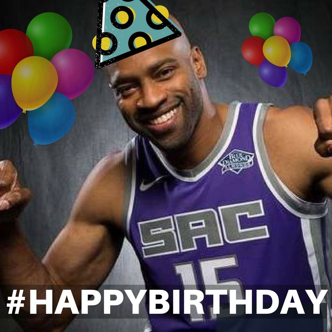 Vince Carter Celebrates His 41st Birthday Today Fresh Off Of A Comeback Win For The Sacramento Kings Last Night
