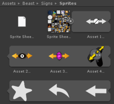 Sprite Sheets for Virtual Reality UI Designers