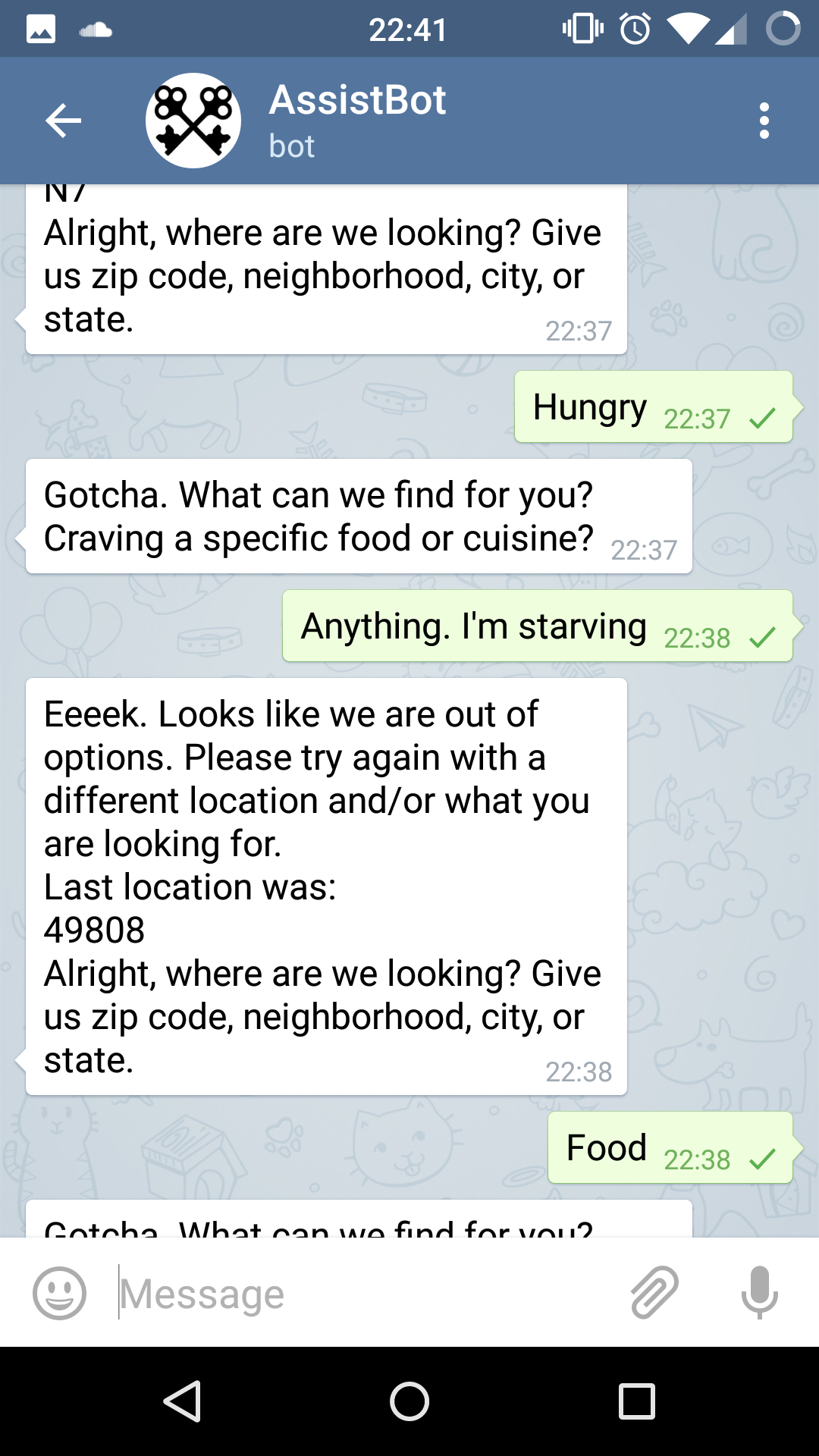 Chats With Bots  BBH Labs  Medium - Us zip codes list by city