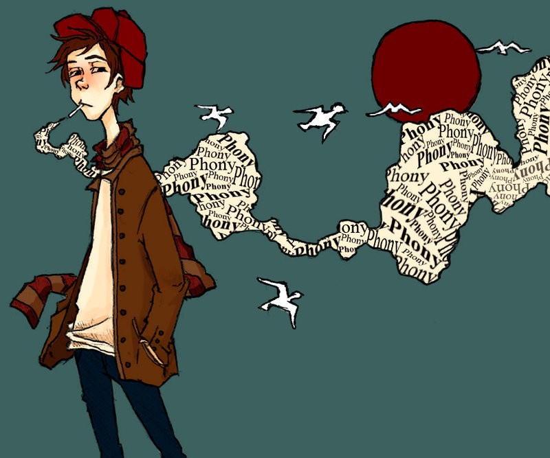 """holden is a phony in the catcher in the rye Holden labels almost everyone a """"phony holden caulfieldis the narrator and protagonist of the catcher in the rye, holden is the son of a wealthy new york."""