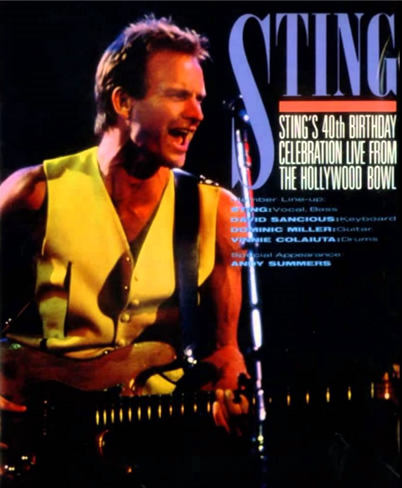 Sting Happy Birthday 1992 Juan Jorge Uzcátegui Medium