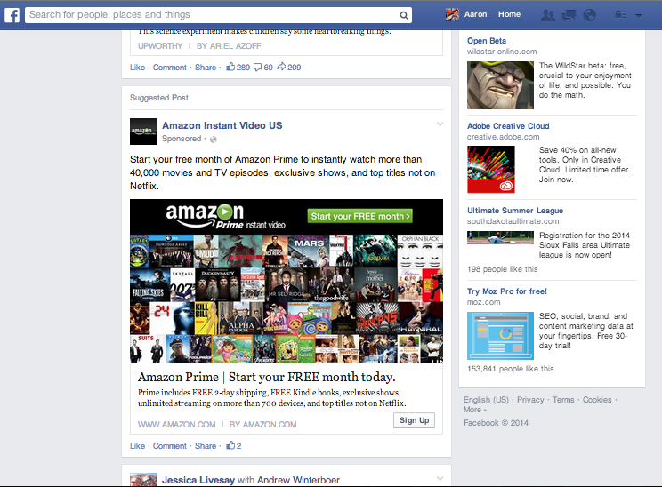 how to stop newsfeed on facebook