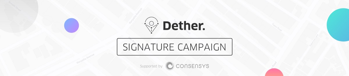 Dether Signature Bounty Campaign