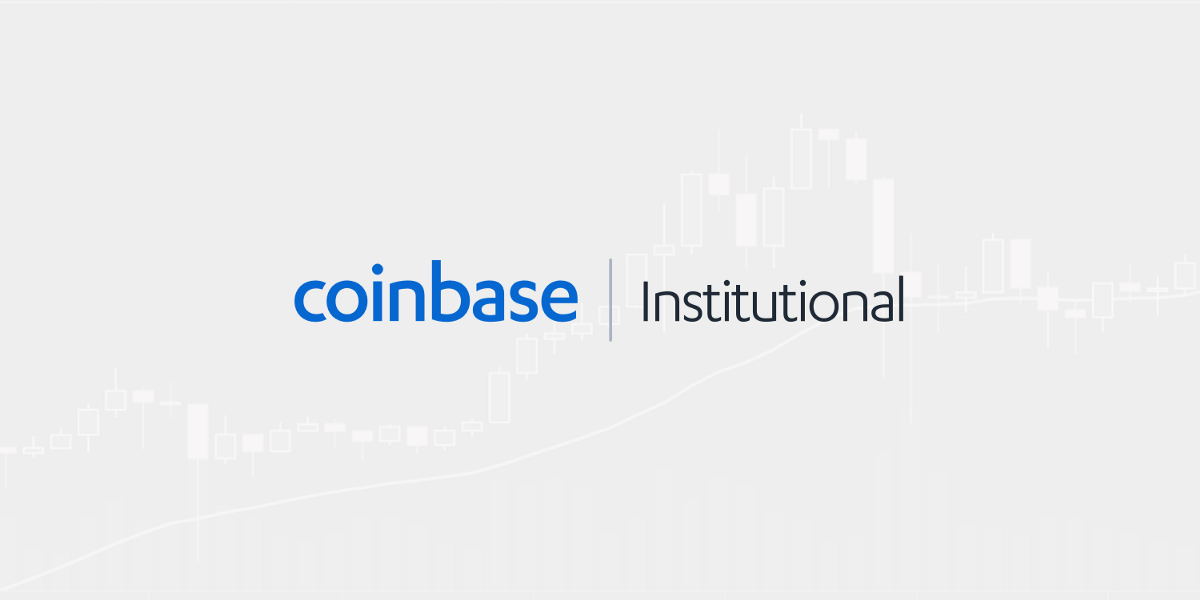 Announcing the Coinbase Suite of Institutional Products
